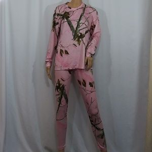 Realtree Leggings & Top Size Medium & XL Pajamas